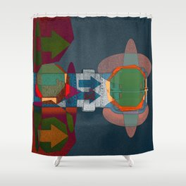 JETSON'S BELT 01 Shower Curtain