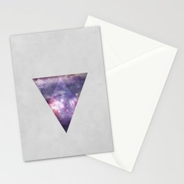Space Tri Stationery Cards