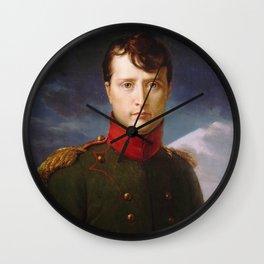 François Gerard - Napoleon Bonaparte Premier Consul Wall Clock