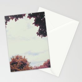 Fall Equinox, Autumn Leaves Stationery Cards