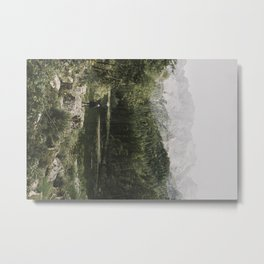 In silence - landscape photography Metal Print