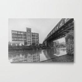Powerhub and Bridge Maidstone Metal Print