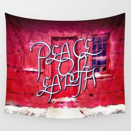 PEACE ON EARTH Wall Tapestry