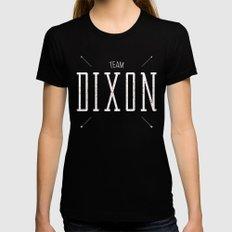 Team Dixon Womens Fitted Tee MEDIUM Black