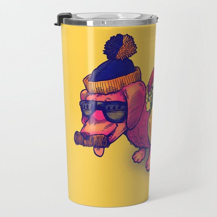 Chicago Dog Travel Mug