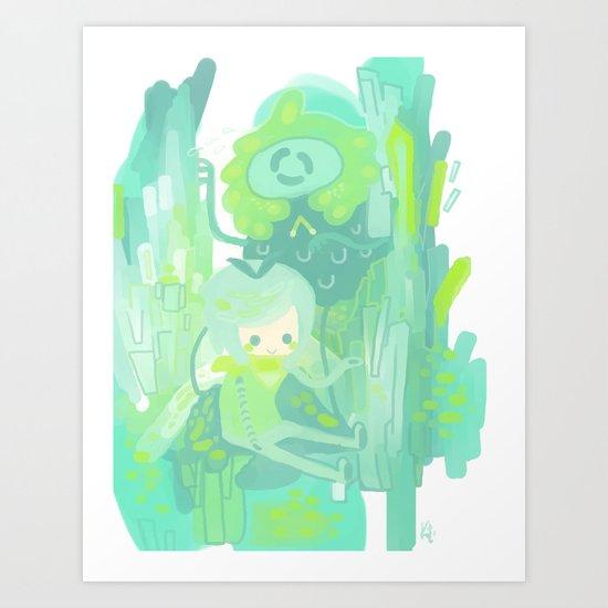 Toned Art Print