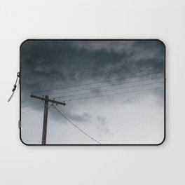 Cloudy Line Laptop Sleeve