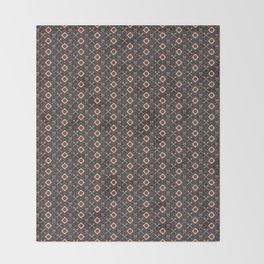 PIRATE_GREY Throw Blanket