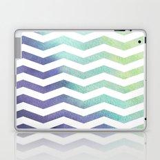 Watercolour Chevron Laptop & iPad Skin