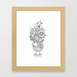 Vase of Flowers Framed Art Print