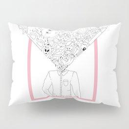 Mind-Blowing Doodles Pillow Sham