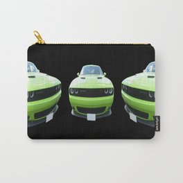 Green Dodge Challenger Carry-All Pouch