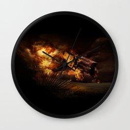 Firestorm Wall Clock
