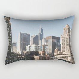City View Rectangular Pillow