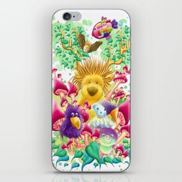 The guardian of nature iPhone Skin