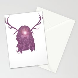 Crystal Antlers Stationery Cards