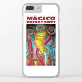 Mágico Buenos Aires por Diego Manuel Clear iPhone Case