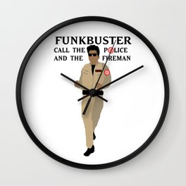 FUNKBUSTERS Wall Clock