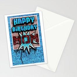 Happy Birthday Mom Stationery Cards