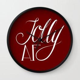 Jolly AF Wall Clock