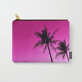 Pink Aloha Carry-All Pouch