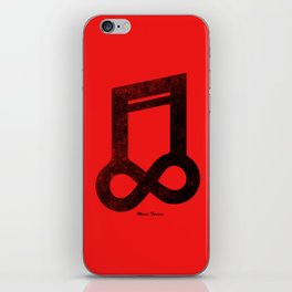Music Forever iPhone Skin