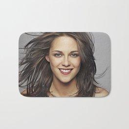 Kristen Stewart - Celebrity - Oil Paint Art Bath Mat