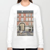 real madrid Long Sleeve T-shirts featuring Relaxing cup, Madrid by Solar Designs
