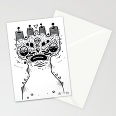 sad dood Stationery Cards