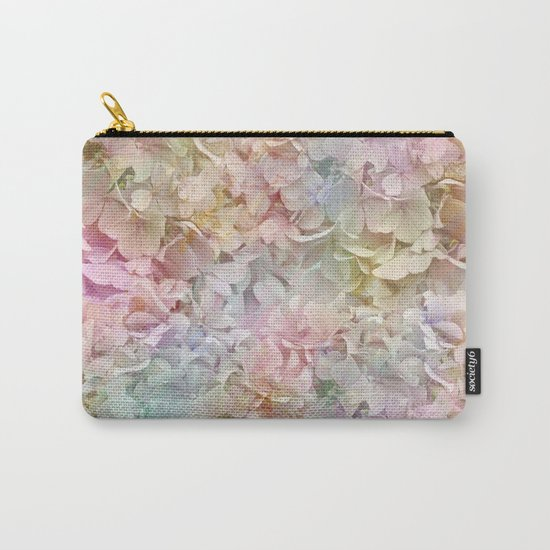 Pastel Hydrangeas Carry-All Pouch