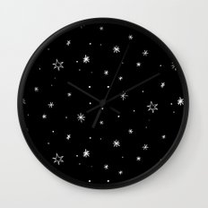 Dream of Stars Wall Clock