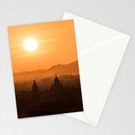 Bagan Sunrise Stationery Cards