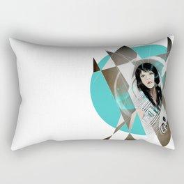 BAT FOR LASHES & The Mask Rectangular Pillow