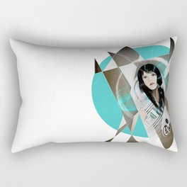 BAT FOR LASHES & The Mask Rectangular Pillow