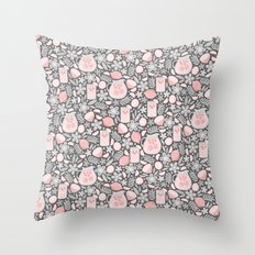 Evening Glass of Lemonade Throw Pillow