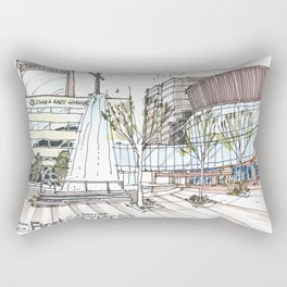First Baptist Dallas Rectangular Pillow
