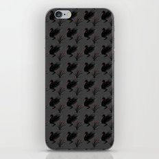 Winter Black Swan iPhone & iPod Skin