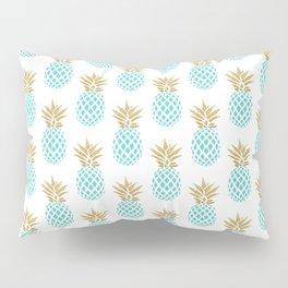 Elegant faux gold pineapple pattern Pillow Sham
