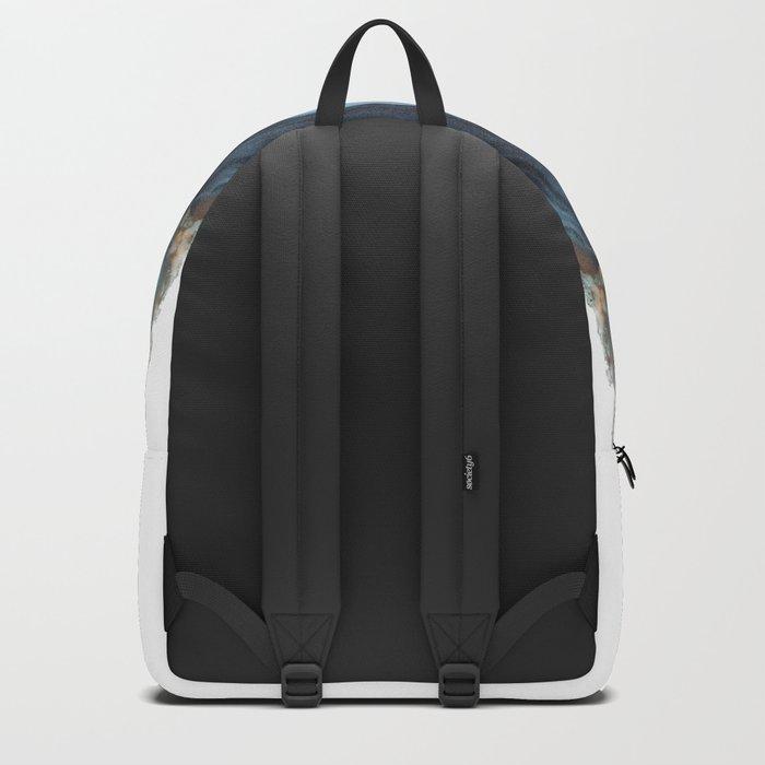Light Blue Agate Backpack