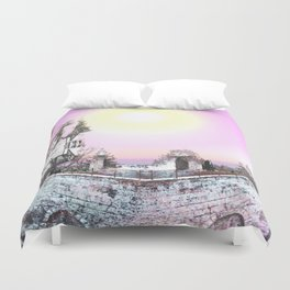 Fortress of Creation Duvet Cover