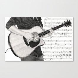 A Few Chords Canvas Print