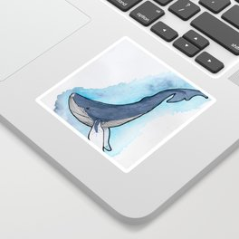Whale of a Time Sticker