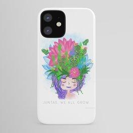 Juntas, we all grow. iPhone Case