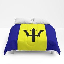 Flag of Barbados Comforters