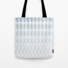pattern leaves in the mist (ice gray) Tote Bag