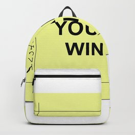 Ticket Yellow Backpack