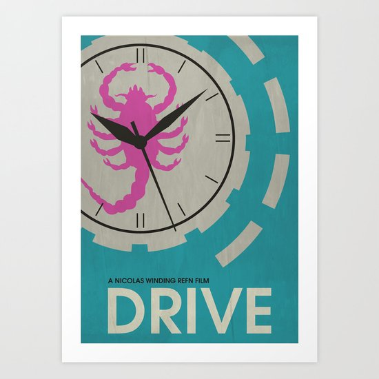 Drive - Minimalist Movie Poster Art Print