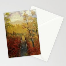 Autumn's Approach (2014) Stationery Cards