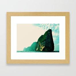 DREAM FOREVER ISLAND Framed Art Print