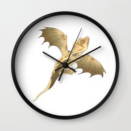 Crested Dragon Wall Clock